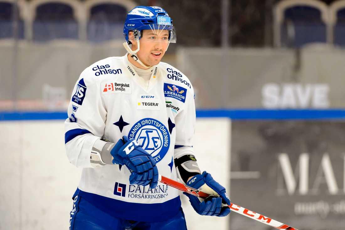 Jacobsson spelade i Leksand 2015.