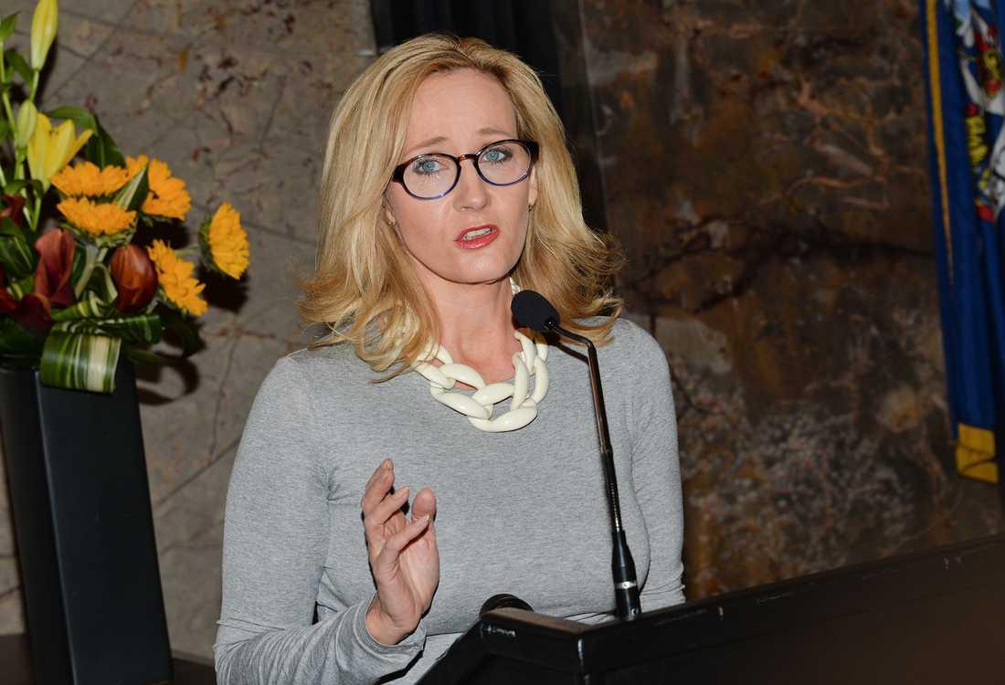"""""""Harry Potter""""-författaren J K Rowling."""