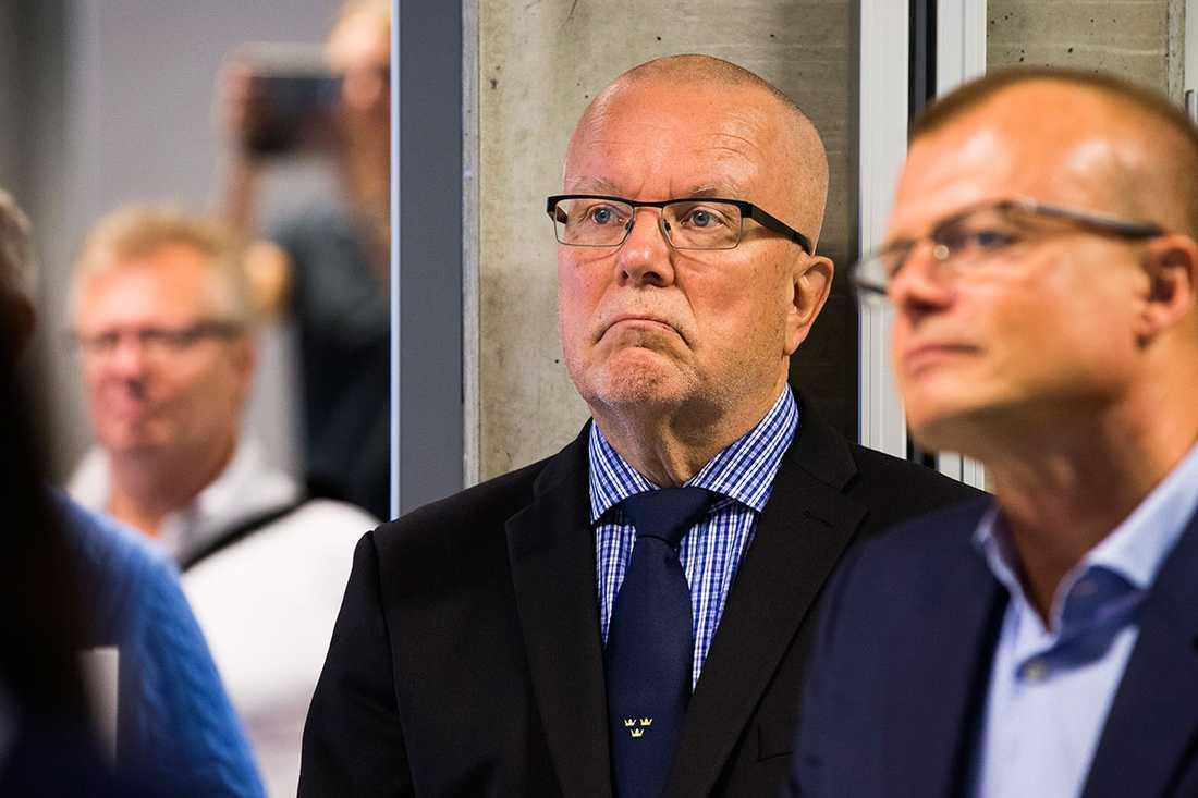 Damkronornas förbundskapten Leif Boork