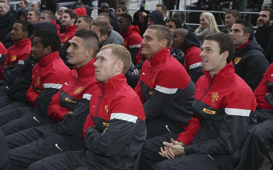 Man Uniteds trupp.