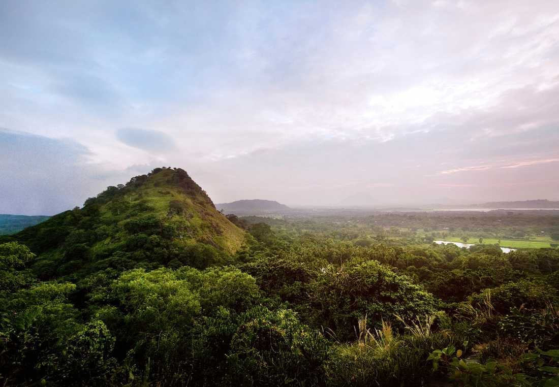 Vackra vyer möter dig lite överallt på Sri Lanka.