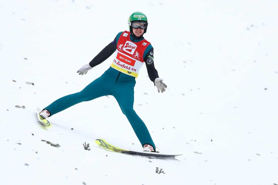 Arkivbild på Ilkka Herola. Enligt Finlands förbundskapten Petter Kukkonen ska flera av de finska åkarna inför tävlingarna i Ruka förra helgen stoppat in disktrasor i kalsongerna.