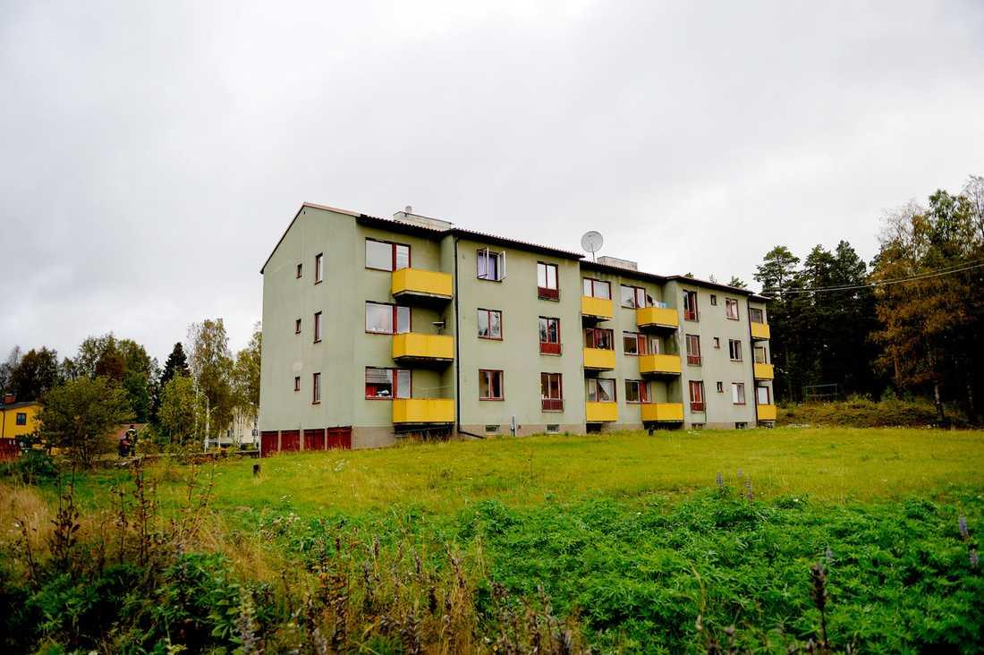 Asylboendet i Fredriksberg.