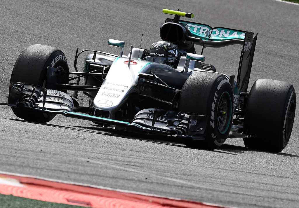 Nico Rosberg vann i Belgien