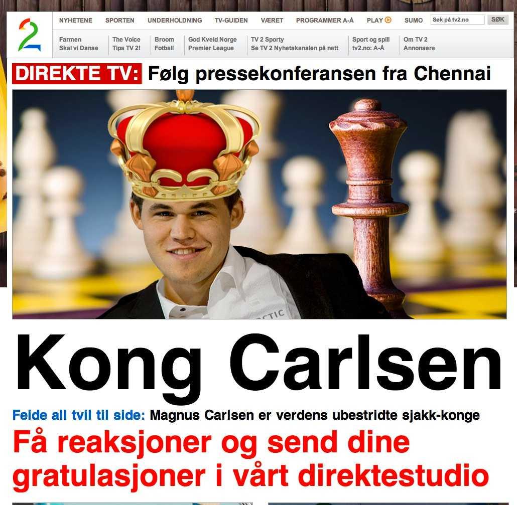 TV2 gav landet en ny kung.