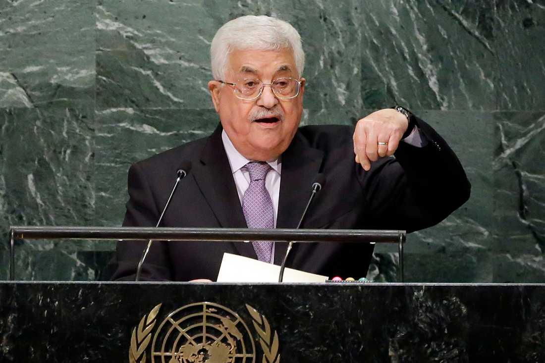 Mahmoud Abbas, palestinsk ledare.