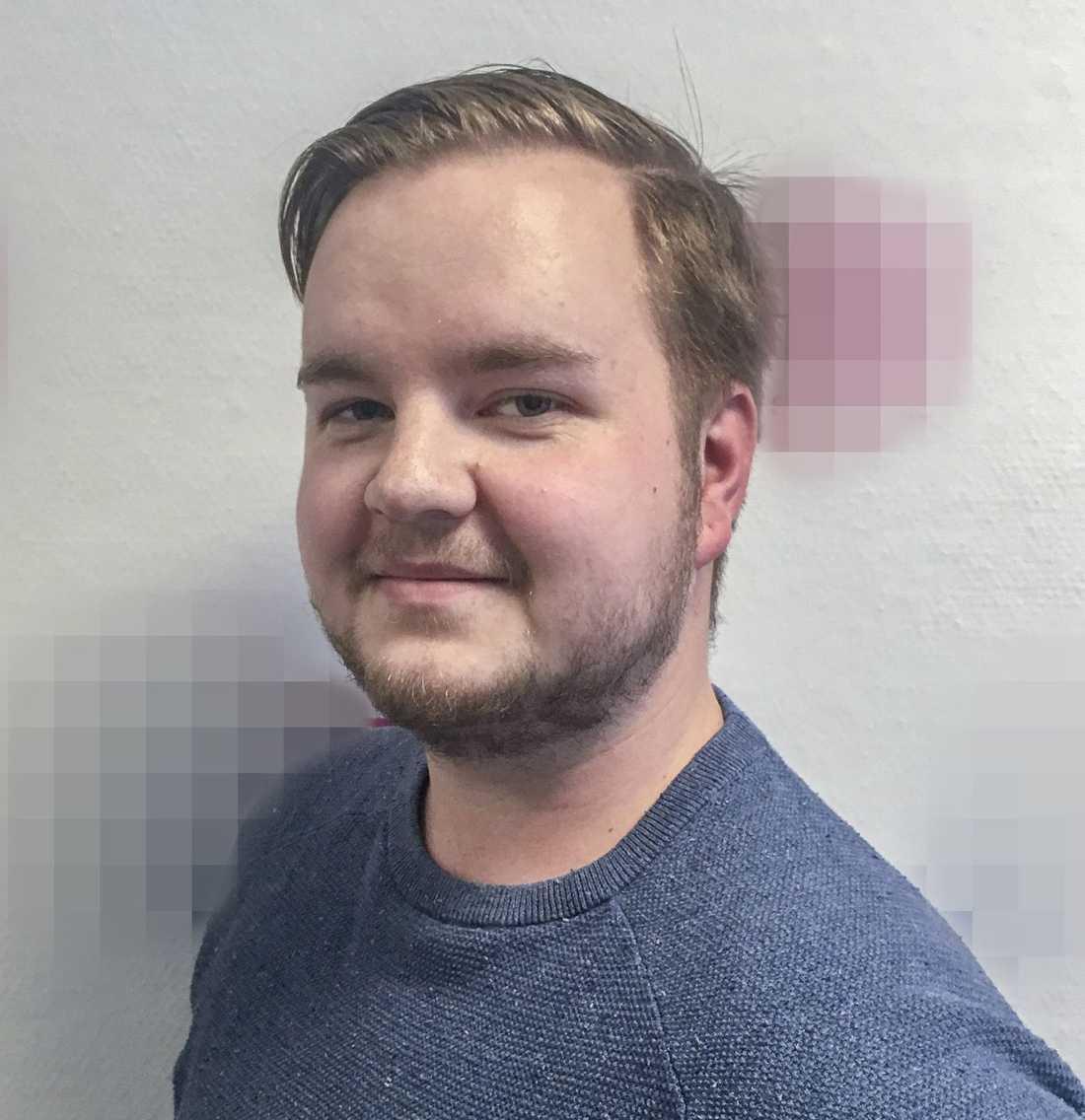 Heikki Bjørklund Paltto, 24, hittades knivmördad.