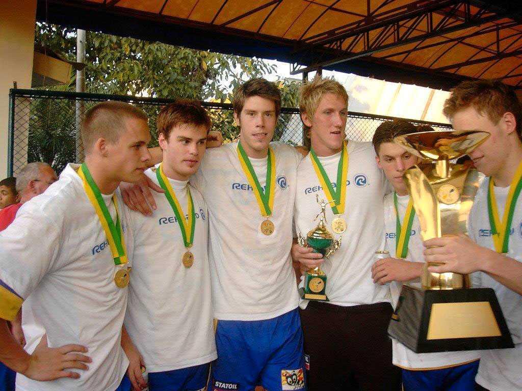 Från vänster: Olof Ask, Fredrik Lindahl, Kim Andersson, Anders Persson, Fredrik Petersen och Richard Kappelin.