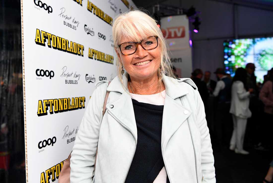 SVT-legendaren Ann-Britt Ryd Pettersson.