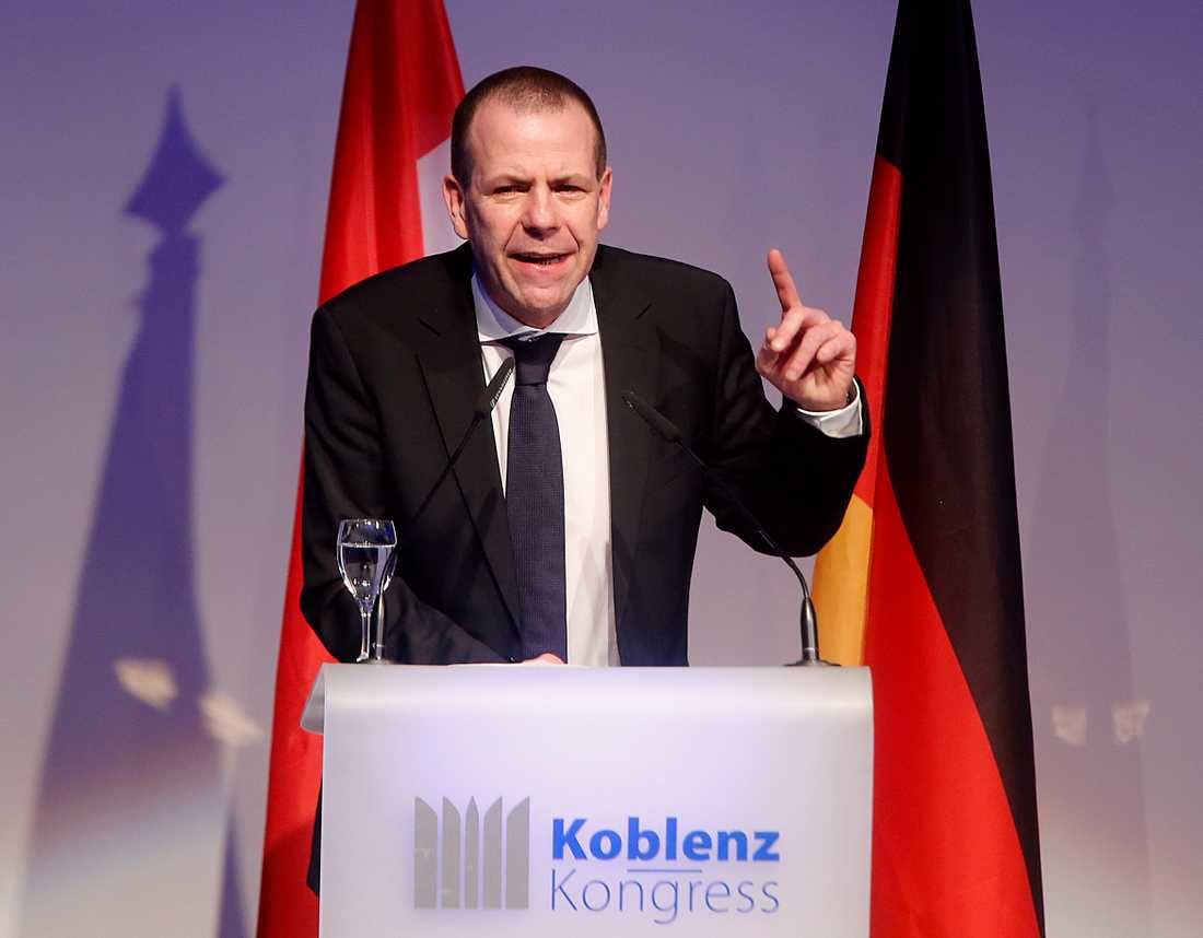 Harald Vilimsky, generalsekreterare för österrikiska Frihetspartiet (FPÖ). Arkivbild.