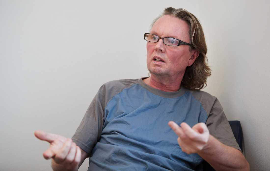 Företagsledaren Christer Olsson, 50, dömdes mot sitt nekande till nio års fängelse för narkotikabrott.