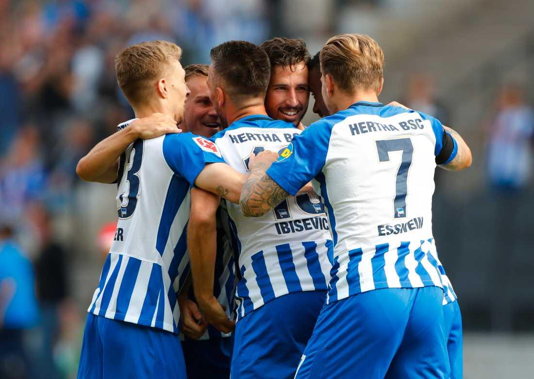 Hertha Berlin blev sexa i ligan.