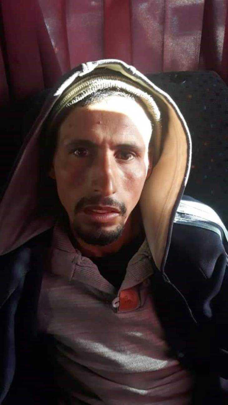 Ejjoud Abdessamad, en av de dömda  för dubbelmordet i Marocko.