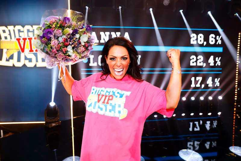 """Anna Book vann """"Biggest Loser VIP"""" i höstas och tappade 22 kilo."""