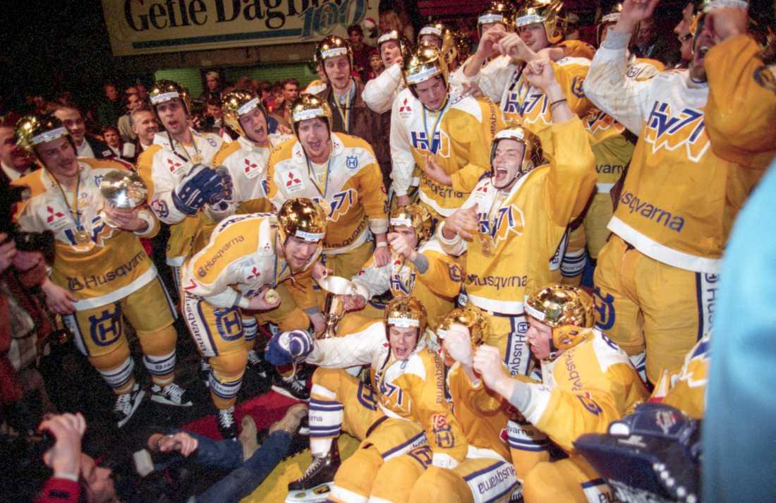 HV71 efter guldet 1995