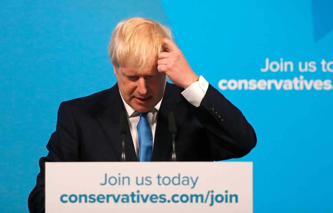 Boris Johnsons första uppgift blir att bilda en ny regering.