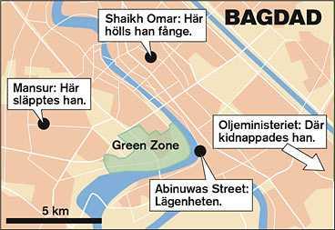 klicka på kartan för att få fram en stor version Karta: FREDRIK PERSSON
