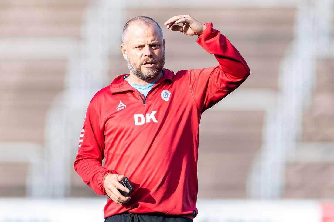 Daniel Karlsson, tränare i Utsikten