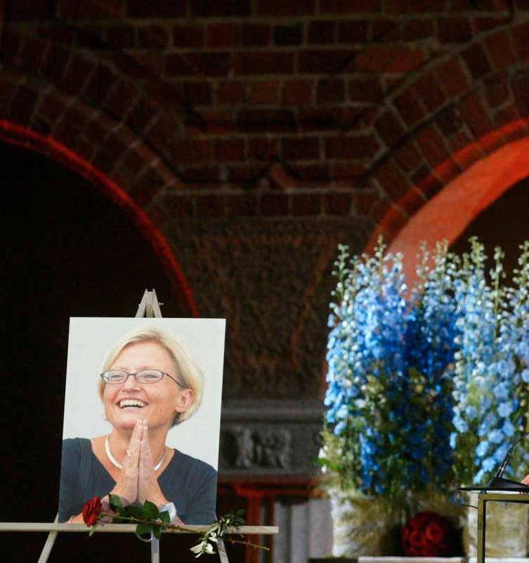 Anna Lindh skulle ha varit 56 år i år om hon hade levt.