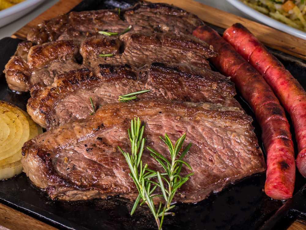 Picanha har en bred fettkappa som ger extra smak.