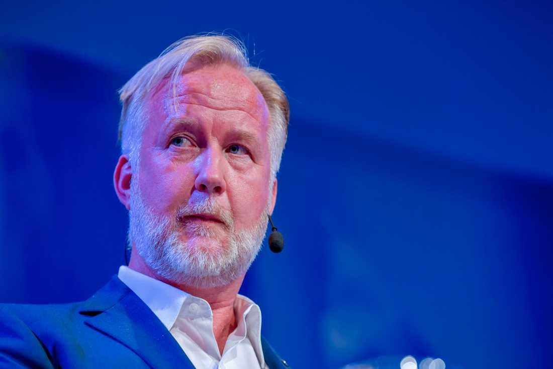 Johan Pehrson är den enda av L-kandidaterna som sitter i riksdagen. Han är partiets ekonomisk-politiske talesperson.