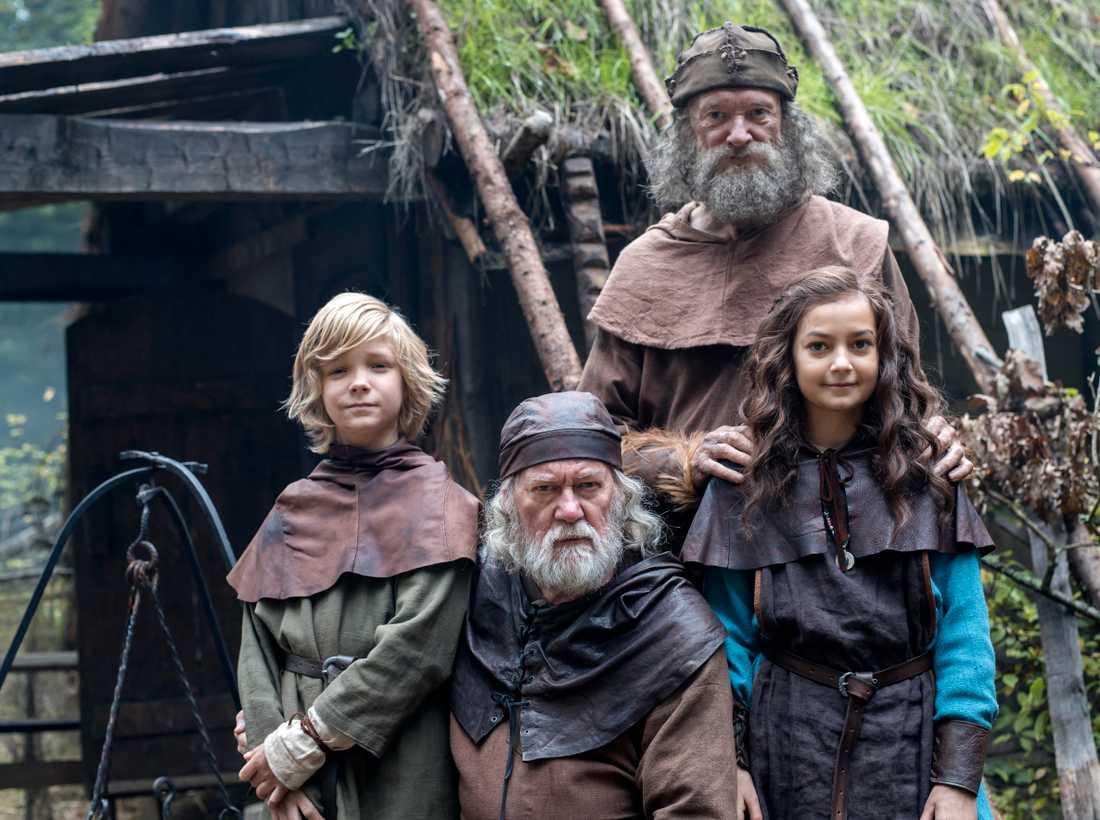 """Inspelningen av """"Halvdan Viking""""."""