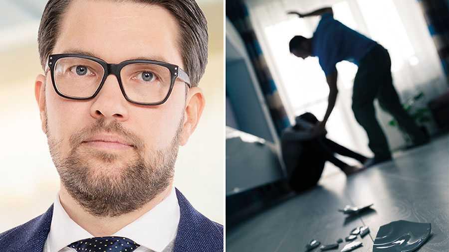 Återkommande trakasserier eller våld mot kvinnor ska kunna leda till fängelse på obestämd tid genom förvaringsdom, till dess att de inte längre bedöms utgöra en fara för andra. Det är ett av våra förslag till övriga partier i dag, skriver Jimmie Åkesson.