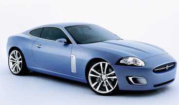 Jaguar XK har krockkuddar under huven. Och hästar.