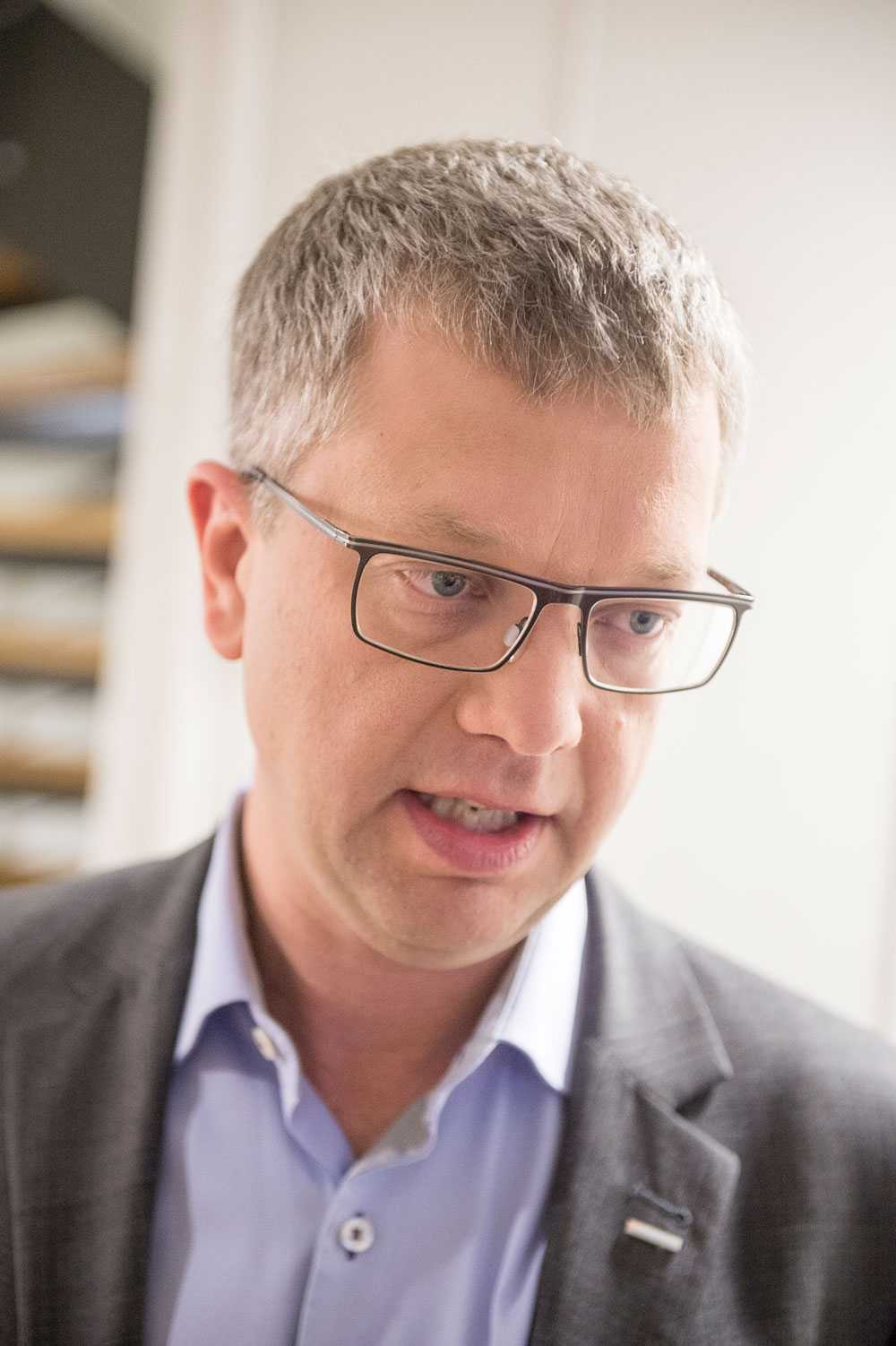 Moderaternas partisekreterare Kent Persson menar att den nya valsajten handlar om ren kunskapsupplysning.