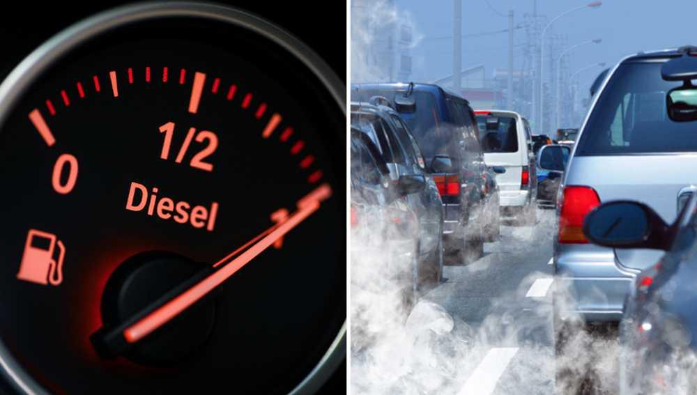 Svenska folket öppnar för dieselförbud.
