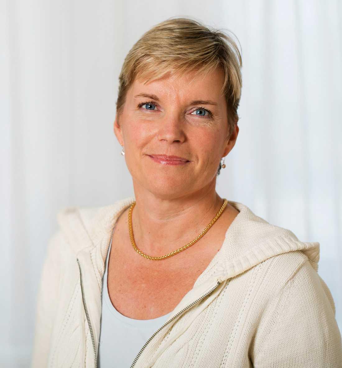 Mia Brytting, mikrobiolog på Folkhälsomyndigheten.