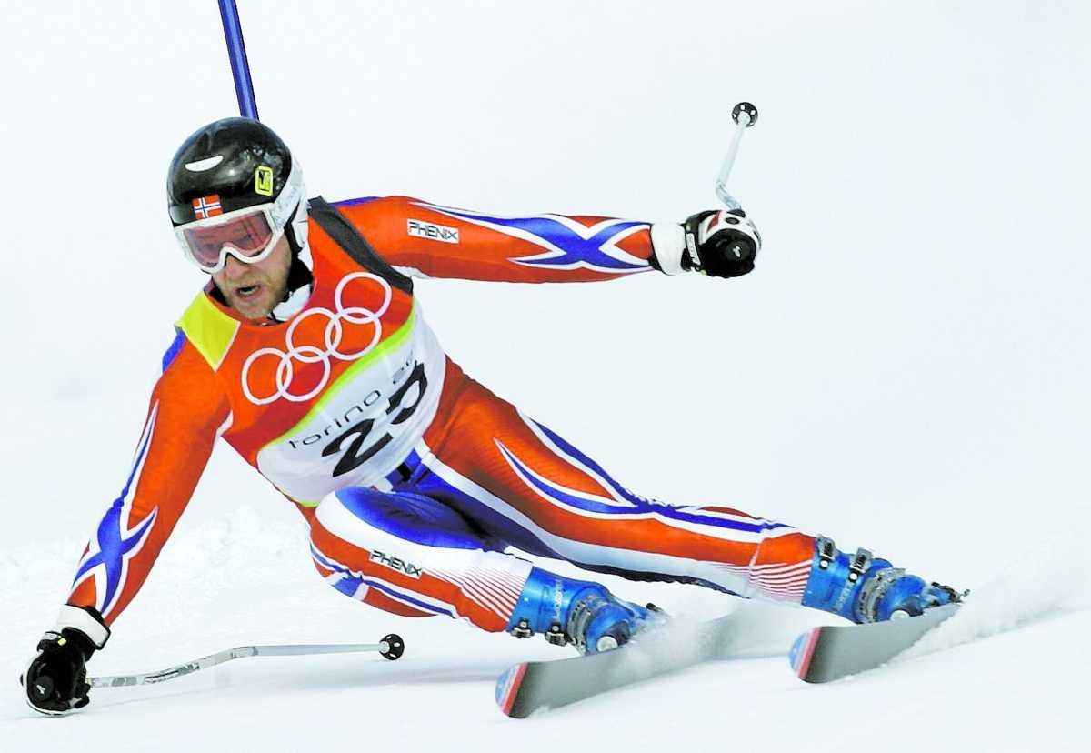 Aamodts sista OS-guld kom i Turin 2006.