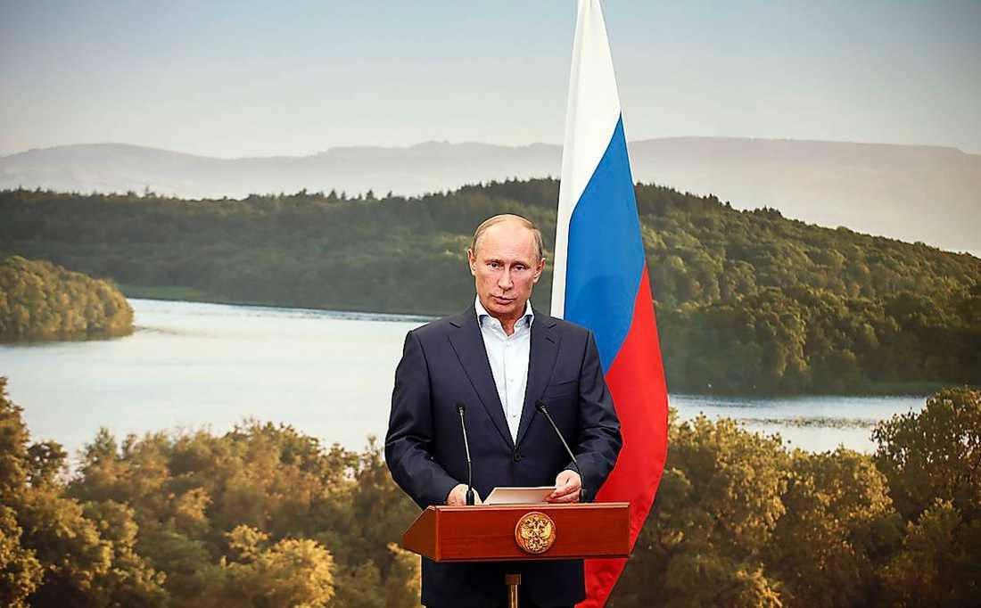 """Putin har infört en lag mot homosexuell """"propaganda""""."""