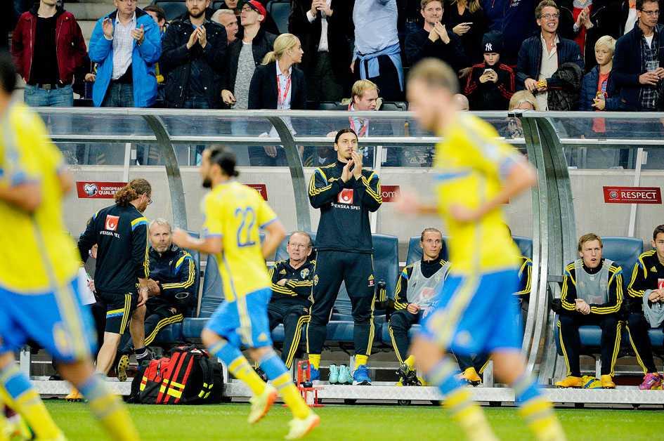Zlatan var skadad hemma mot Ryssland, men trots det fick Sverige bara oavgjort. Så det finns hopp inför morgondagens match trots allt...