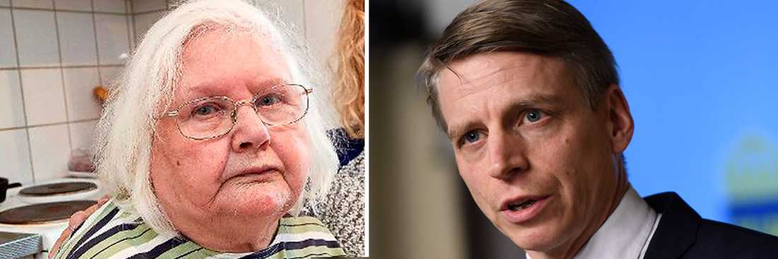 Ulla-Britt Andersson och Per Bolund (MP).