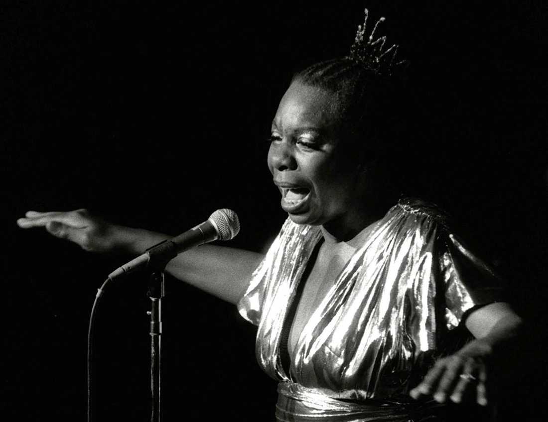 Nina Simone är en av de sex kvinnor som porträtteras i dokumentären. Arkivbild.
