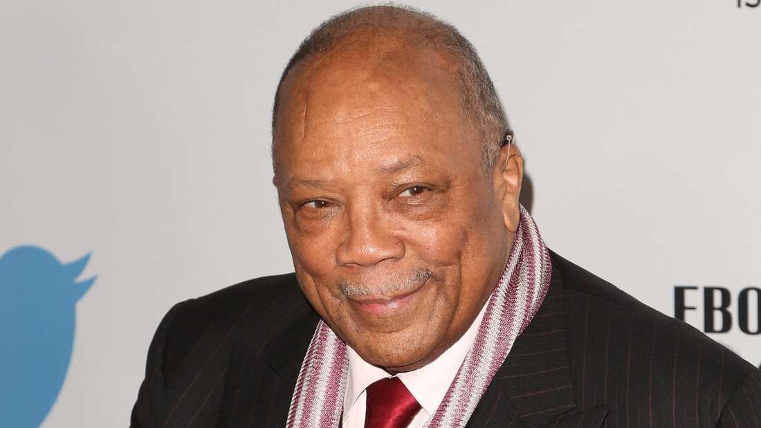 Quincy Jones 2014.