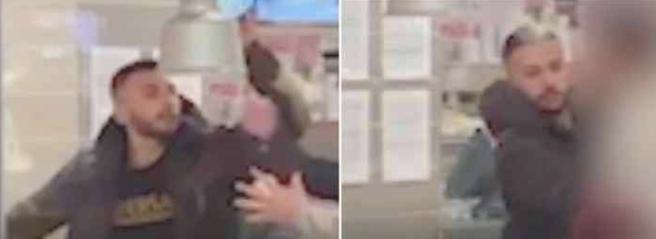 Efter knivattacken – polisen släpper bilder på överfallet