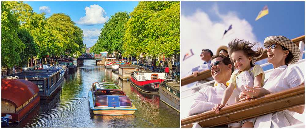 Kryssningsfartyg ratar Amsterdam efter ny turistskatt.