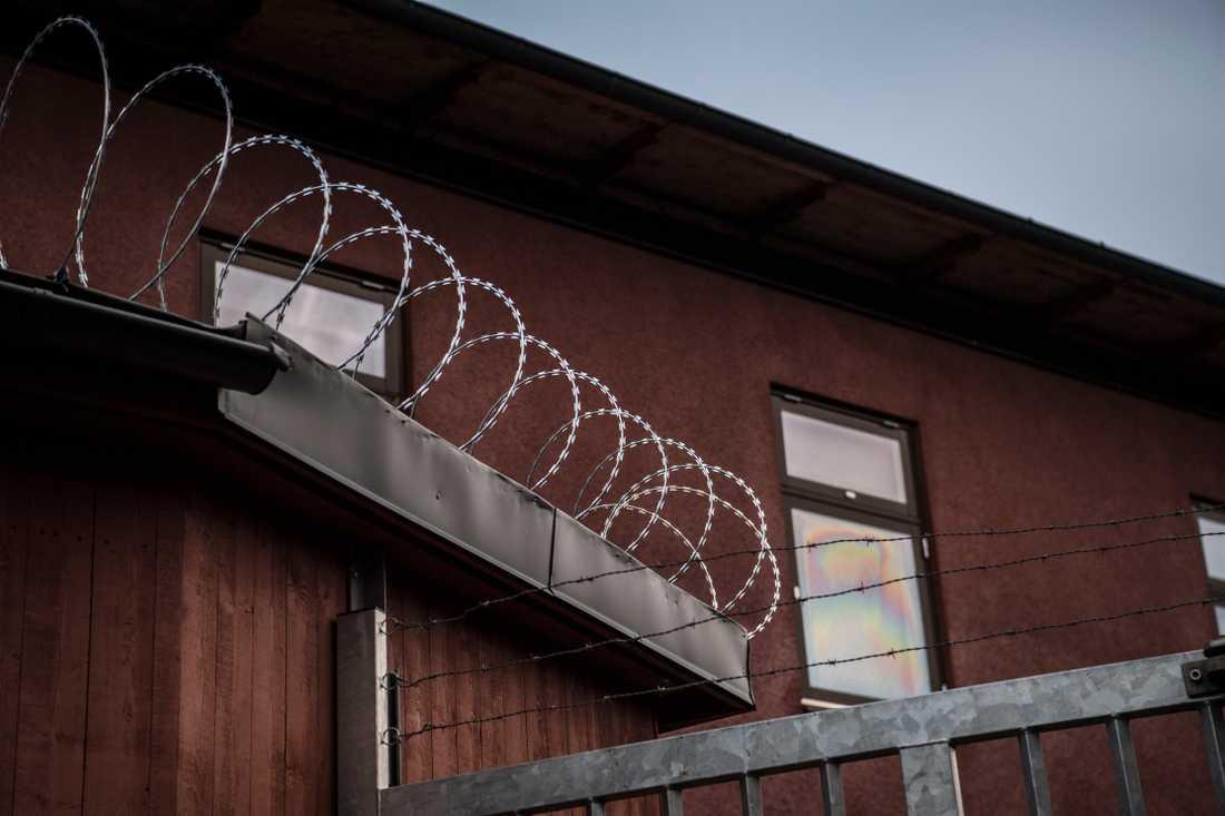 Migrationsverkets förvar i Märsta.