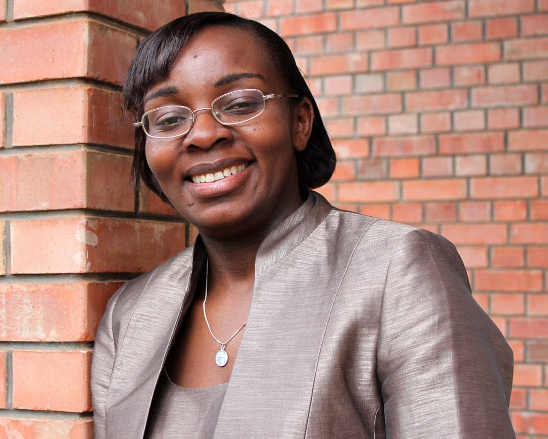 Den rwandiska oppositionsledaren Victoire Ingabire. Arkivbild.