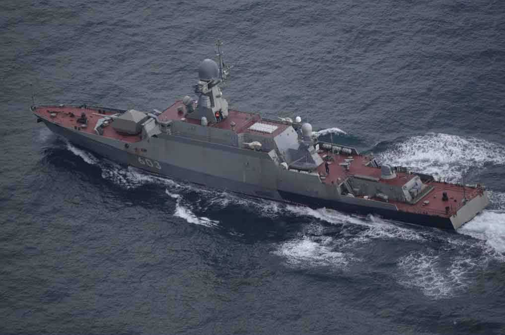 Den ryska korvetten Serpukhov