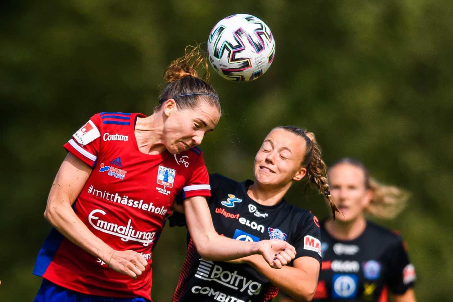 Linköpings Olga Ahtinen.