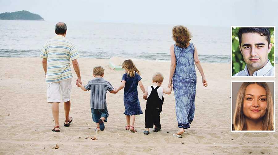Barnbidraget motsvarar ett par utlandsresor om året. Det är orimligt, menar Isak Kupersmidt och Siri Steijer.