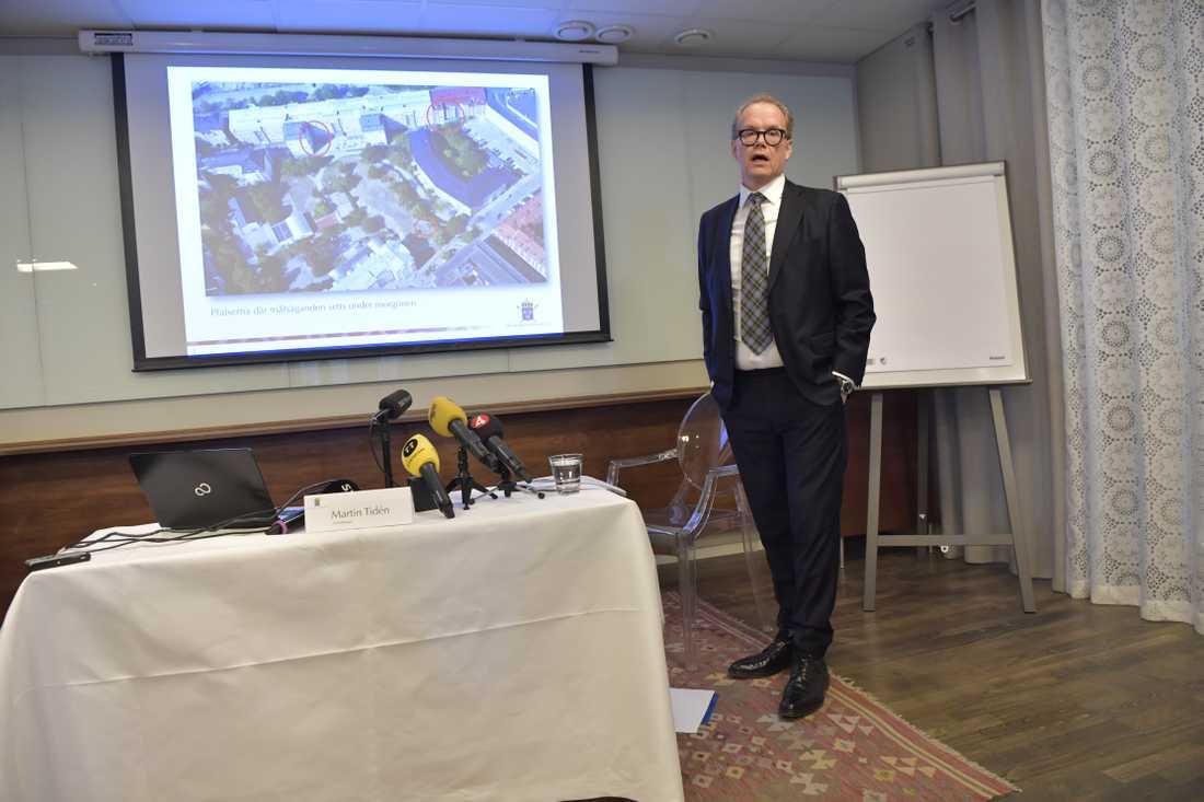 Chefsåklagare Martin Tidén.