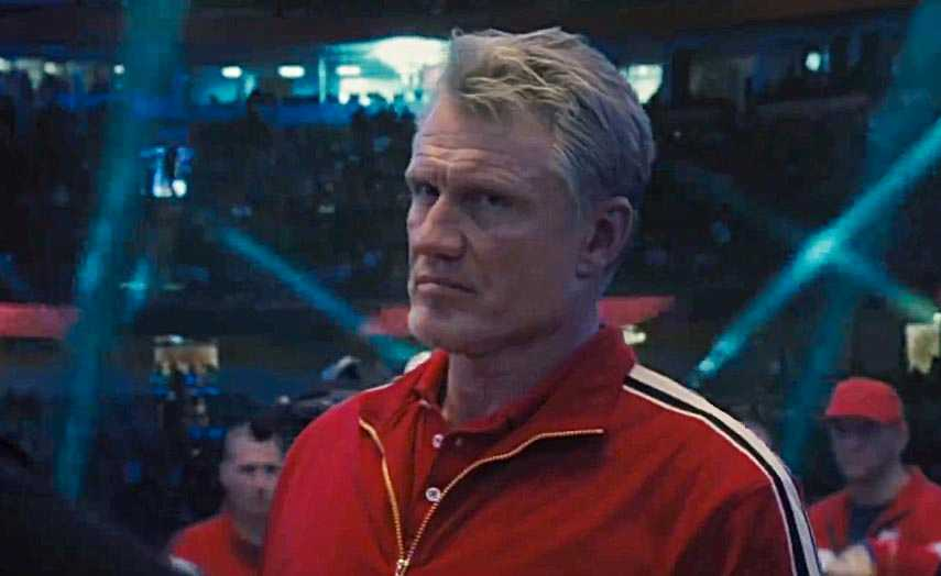 "Dolph Lundgren i ""Creed II""."