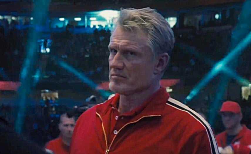 "Dolph Lundgren i ""Creed II""."