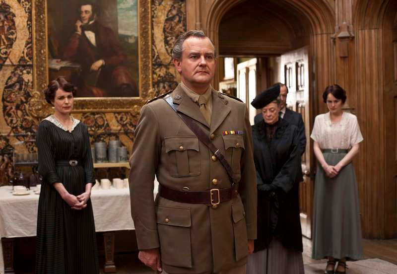 "Hugh Bonneville som Robert Grantham i ""Downton Abbey""."