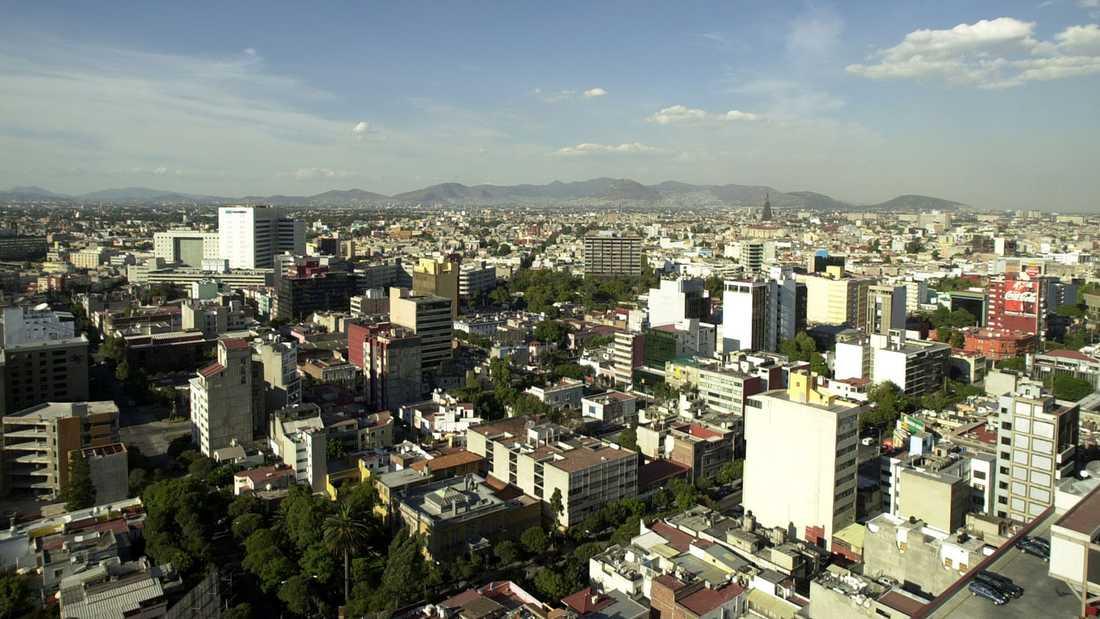 Mexikos huvudstad Mexico City.