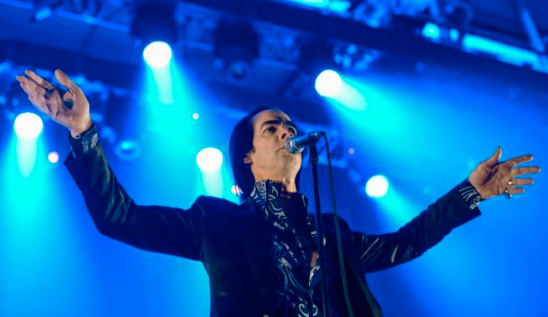 Nick Cave i Stockholm 2013.